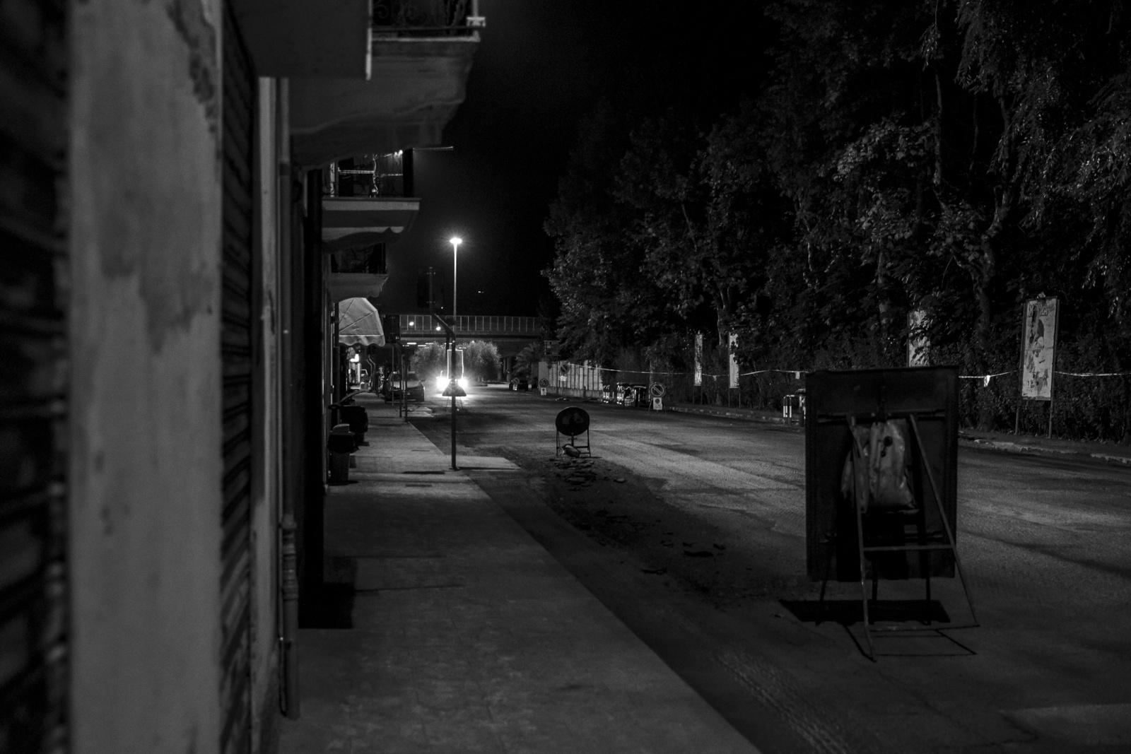 Vado, di notte