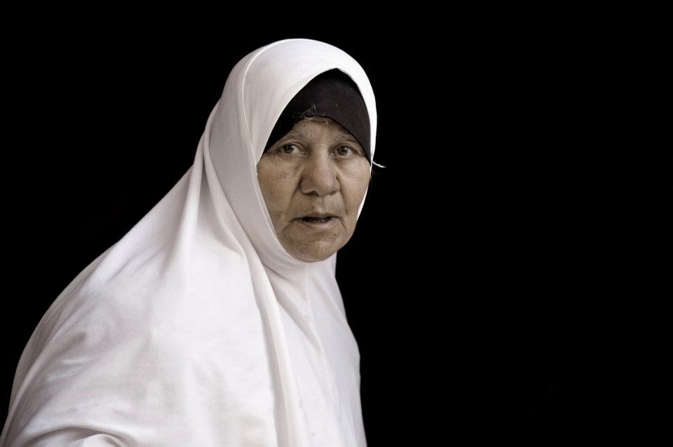 Abu Khalid Jawarish, 66 years old. MALATA DI ALZHEIMER.VIVE CON LA FIGLIA E I NIPOTI.