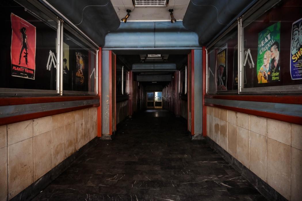 Cinema in disuso - Belgrado Serbia Abandoned cinema - Belgrade Serbia