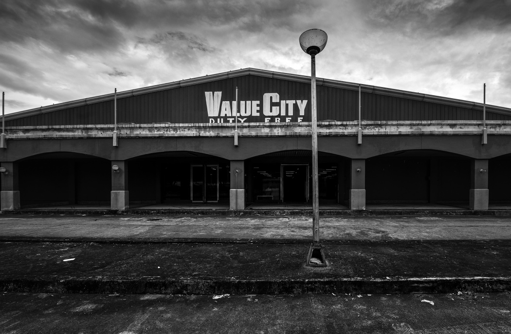 1- The former duty free building at the now disused Clark Air Base in Angeles City.