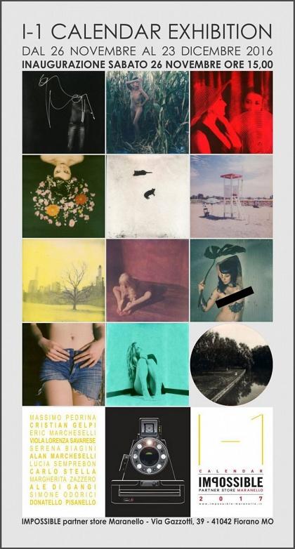 The I-1 Calendar Exhibition @Impossible Partner Store Maranello