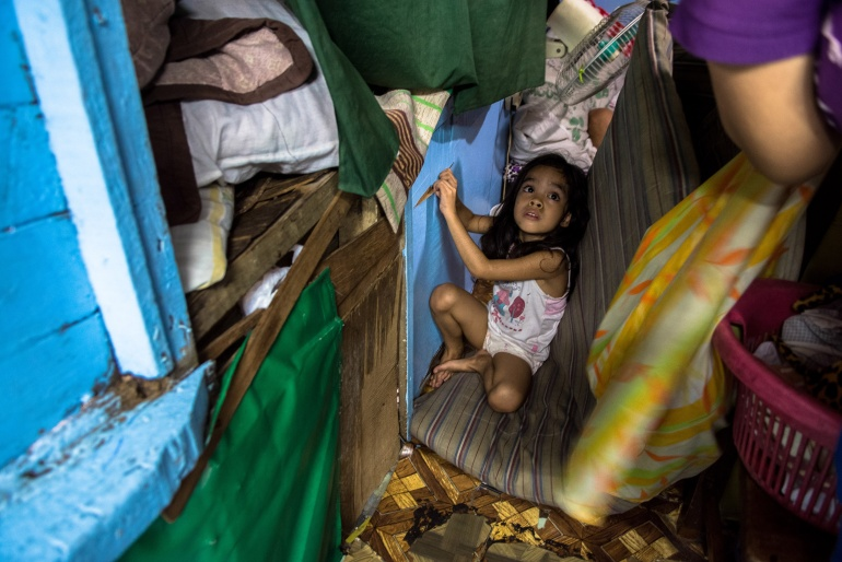 Poverty is also a major social problem in the Philippines. As of 2012, more than one-fourth of the Filipino population earns income below the poverty line of 16,841 pesos